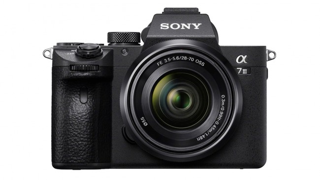 Sony Alpha 7 III Front View