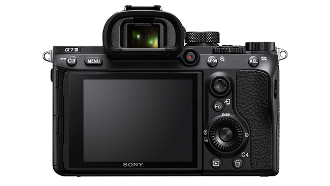 Sony Alpha 7 III Back View
